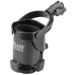 "RAM Mount Level Cup XL w\/Single Socket for B Size 1"" Ball [RAP-B-417-200-1U]"