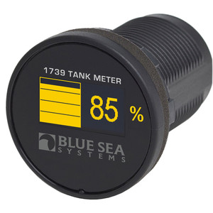 Blue Sea 1739 Mini OLED Tank Meter - Yellow [1739]