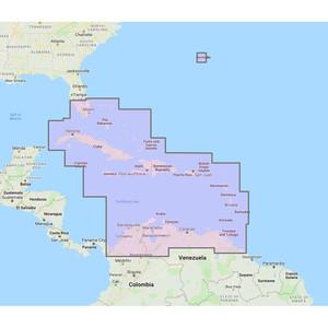 Furuno Bahamas, Caribbean  Bermuda - Vector Chart, 3D Data  Standard Resolution Satellite Photos - Unlock Code [MM3-V90-8G0]