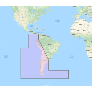 Furuno South America West Coast - Costa Rica to Chile to Falklands Vector Charts - Unlock Code [MM3-VSA-500]