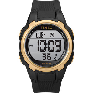Timex T100 Black\/Gold - 150 Lap [TW5M33600SO]