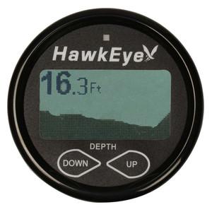 HawkEye DepthTrax 2BX In-Dash Digital Depth  Temp Gauge - Transom Mount - 600 [DT2BX-TM]