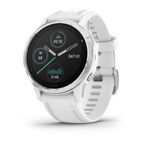fenix 6S, White with White Band