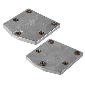 Tecnoseal Aluminum Mercury Zeus Pod Trim Tab Anode Kit w\/Hardware [KIT-843AL]