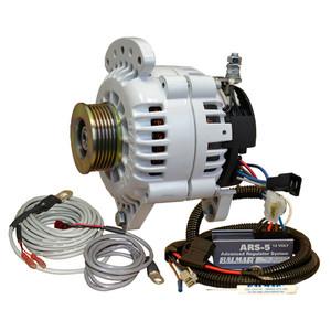 Balmar Alternator 120 Amp Saddle Mount ARS Regulator w\/Temp Sensor Single K6 Pulley [60-YP-120-K6]