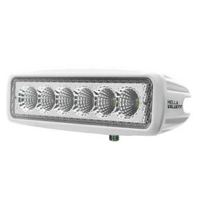 Hella Marine Value Fit Mini 6 LED Flood Light Bar - White [357203051]
