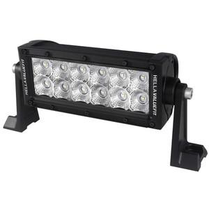 """Hella Marine Value Fit Sport Series 12 LED Flood Light Bar - 8"""" - Black [357208001]"""