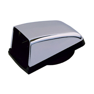 "Perko Chromalex Cowl Vent - 3"" Duct - Chrome Plated Zinc [1312DP0CHR]"