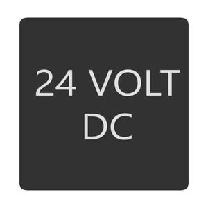 Blue Sea 6520-0010 Square Format 24 Volt DC Label [6520-0010]