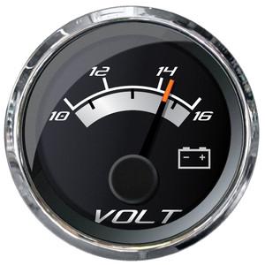 """Faria Platinum 2"""" Voltmeter - 10-16VDC [22022]"""