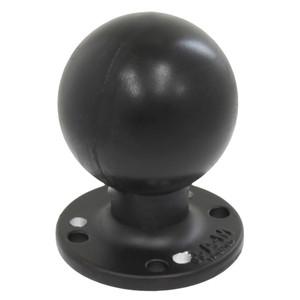 """RAM Mount RAM Round Plate w\/Ball - 2.25"""" - D Size Ball - Hole Plate [RAM-D-254-WD1U]"""