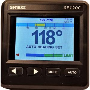 SI-TEX SP120 Color System w\/Rudder Feedback  9CI Pump [SP120C-RF-2]