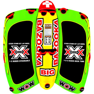WOW Watersports Big Bazooka Towable - 4 Person [13-1010]