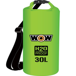WOW Watersports H2O Proof Dry Bag - Green 30 Liter [18-5090G]