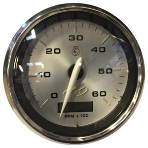"""Faria Monterey 4"""" Tachometer (6000 RPM) w\/Digital Hourmeter [TCH257]"""