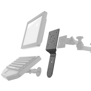 RAM Mount Standard Accessory\/Display Bracket [RAM-DIS-103-2U]