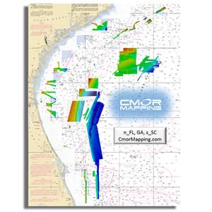 Furuno CMOR Mapping - North Florida, Georgia  South Carolina f\/TZT2  TZT3 [MM3-WAR-BAT-05]