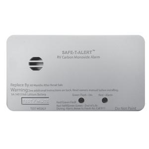 Safe-T-Alert SA-340 White RV Battery Powered CO2 Detector - Rectangle [SA-340-WT]