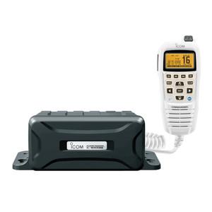 Icom VHF Marine Black Box Radio with White Command Mic [M400BB SW 31]