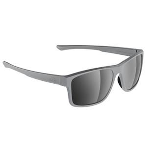H2Optix Coronado Sunglasses Matt Grey, Grey Silver Flash Mirror Lens Cat. 3 - AR Coating [H2031]