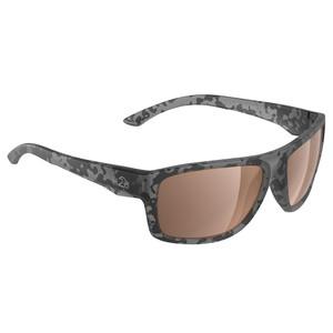 H2Optix Grayton Sunglasses Matt Tiger Shark, Brown Lens Cat. 3 - AR Coating [H2027]