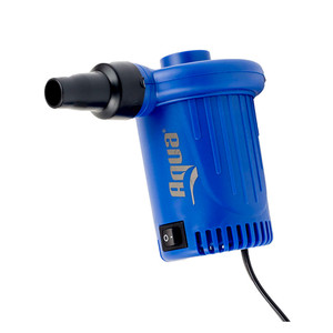Aqua Leisure Portable 12VDC Air Pump w\/3 Tips [AQX20389]
