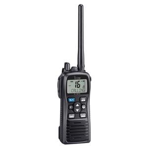 Icom M73 PLUS Handheld VHF 6W Marine Radio w\/Active Noise Cancelling  Voice Recording [M73 51]