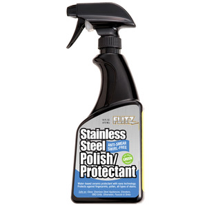 Flitz Stainless Steel Polish\/Protectant - 16oz Spray [SS 01306]