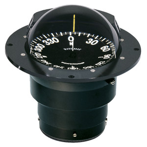 Ritchie FB-500 Globemaster Compass - Flush Mount - Black - 12V - 5 Degree Card [FB-500]