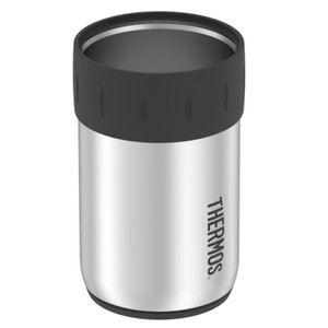Thermos Stainless Steel 12oz Beverage Can Insulator - Keeps Cold f\/10 Hours [2700TRI6]