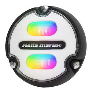 Hella Marine Apelo A1 RGB Underwater Light - 1800 Lumens - Black Housing - White Lens [016146-011]