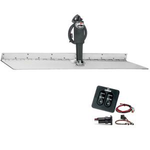 "Lenco 12"" x 18"" Super Strong Trim Tab Kit w\/Standard Tactile Switch Kit 12V [TT12X18SS]"