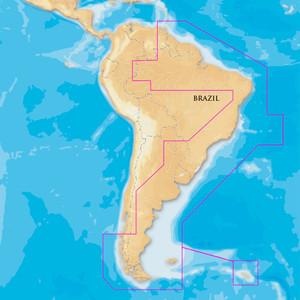 Navionics Platinum+- South America East - microSD\/SD [MSD\/909P-2]