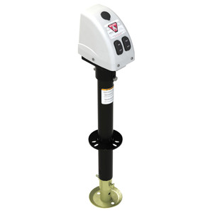 Bulldog 3,500lbs A-Frame RV Jack w\/Powered Drive - 12V - White Cover [500188]