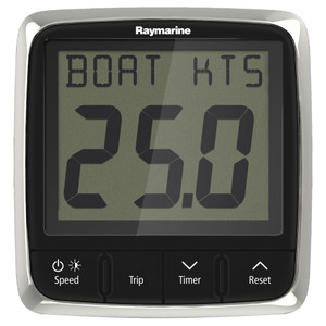 Raymarine i50 Speed Display System w\/Nylon Thru-Hull Transducer [E70147]