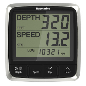 Raymarine i50 Tridata Display System w\/Nylon Thru-Hull Transducer [E70149]