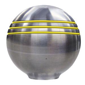 "Ongaro Throttle Knob - 1-"" - Gold Grooves [50048]"