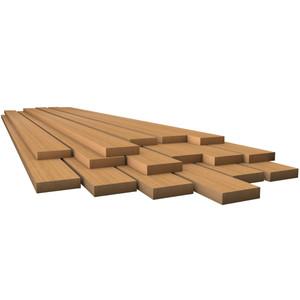 """Whitecap Teak Lumber - 7\/8"""" x 4"""" x 36"""" [60818]"""