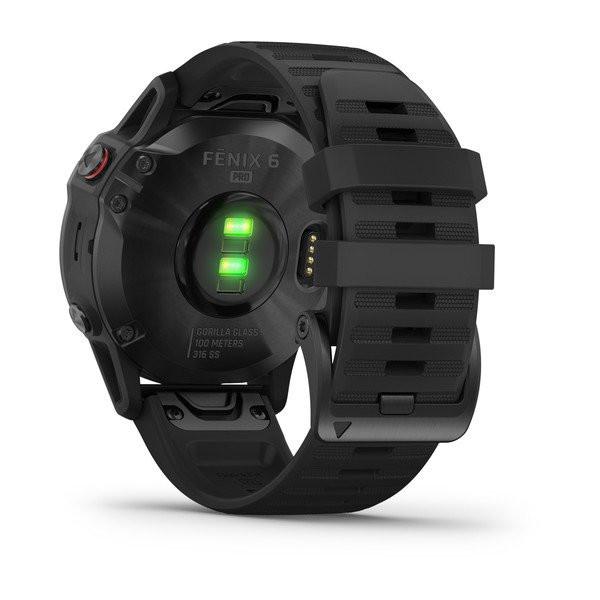 fenix 6 Pro, Black with Black Band