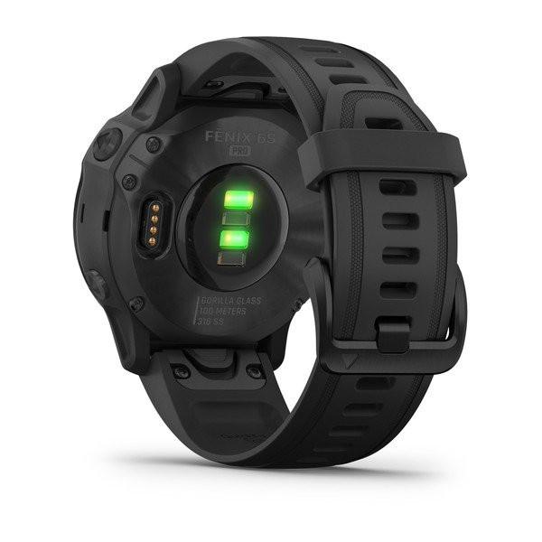 fēnix® 6S Pro, Black with Black Band