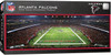 Atlanta Falcons 1000 Piece Stadium Panoramic Jigsaw Puzzle