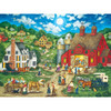 Heartland Collection Friday Night Hoe Down - 550 Piece Jigsaw Puzzle by Bonnie White
