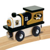 Works with 1 inch wood trains