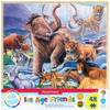Wood Fun Facts of Ice Age Friends - 48 Piece Kids Puzzle by Jenny Newland
