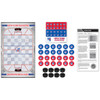 New York Rangers Checkers Board Game