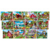 Alan Giana Collection - Garden & Country Scenes 12 Pack Jigsaw Puzzles