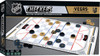 Vegas Golden Knights Checkers Board Game