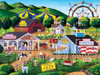 Family Hour Summer Carnival Large 400 Piece EZGrip Jigsaw Puzzle by Art Poulin