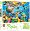 Tropics Breaking Waves Large 300 Piece EZGrip Jigsaw Puzzle
