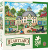 Heartland Collection The Quilt Barn - 550 Piece Jigsaw Puzzle by Bonnie White
